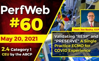 """Validating """"RESP"""" and """"PRESERVE"""" A single practice ECMO for Covid-19 experience"""