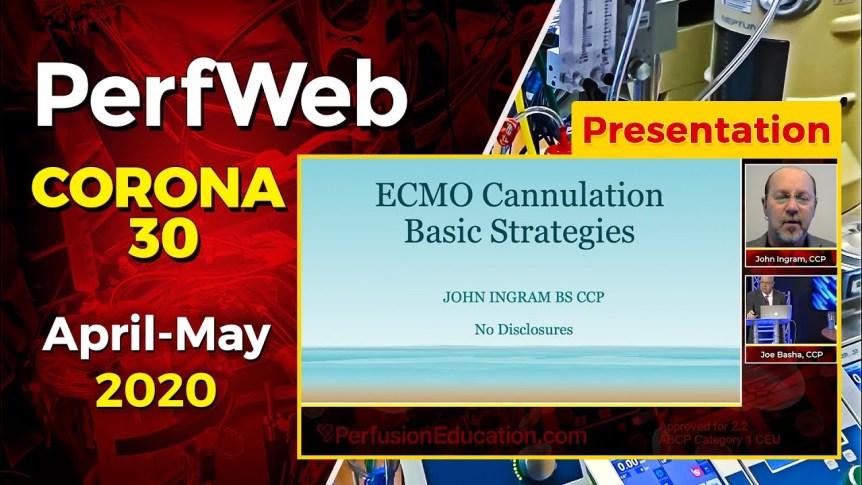Ecmo Cannulation Basic Strategies Card