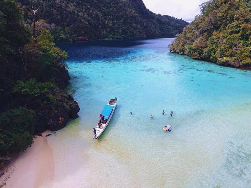 Liburan ke Palu itu berarti anda bisa menikmati pemandangan yang indah seperti ini via @namasayariizal