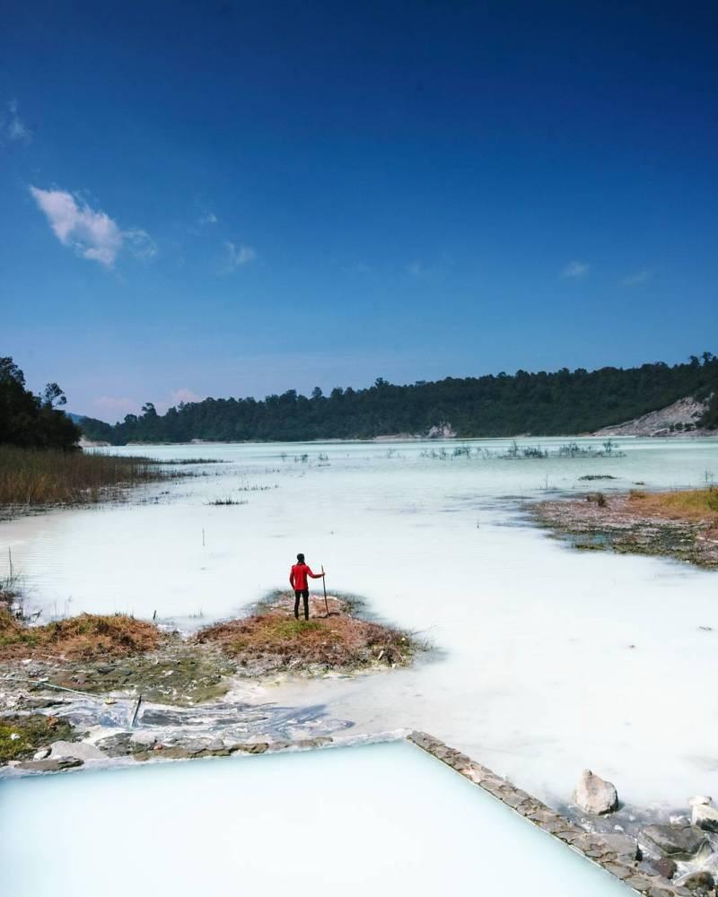 Tempat wisata Talaga Bodas via @ridzal.fdl_