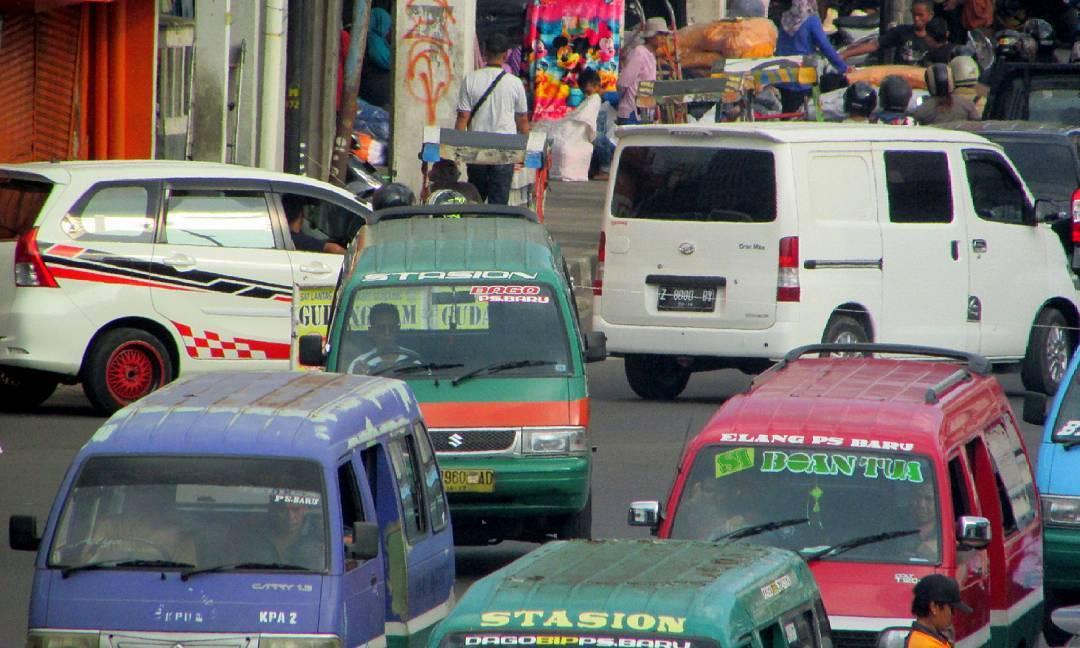 Informasi Daftar Rute Angkot Angkutan Umum Bandung Lengkap