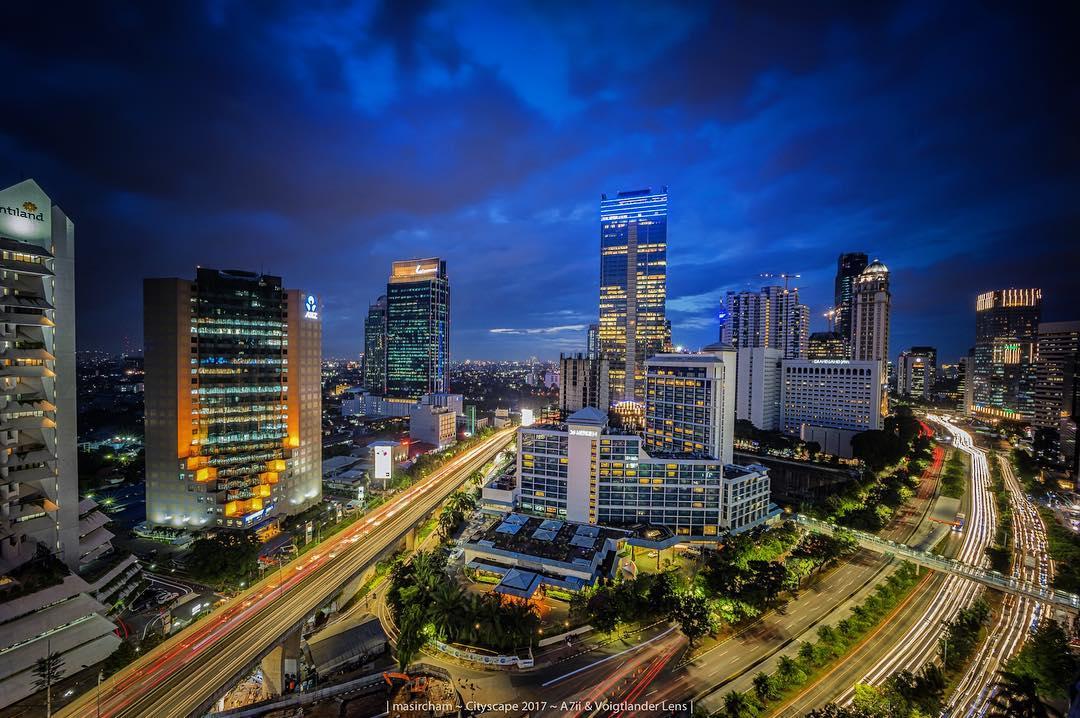 Tendean adalah bagian dari Kota Jakarta yang tak pernah tidur via @mas_ircham19