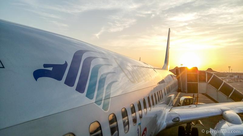 Garuda Indonesia adalah maskapai utama Indonesia