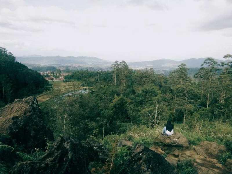 Bandung selatan memiliki banyak tempat sepi untuk menikmati suasana tahun baru via @wisataciwidey