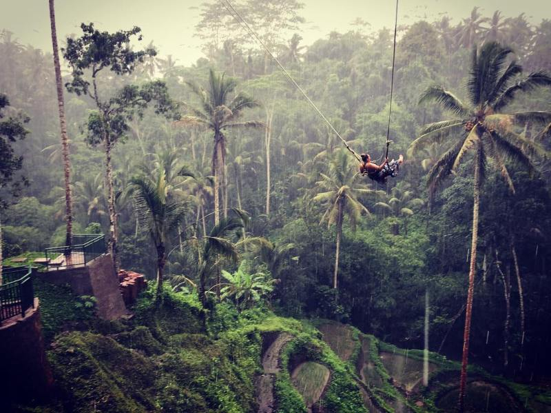 Ubud adalah salah satu tempat liburan di Bali yang tenang dan nyaman @jamilynn04