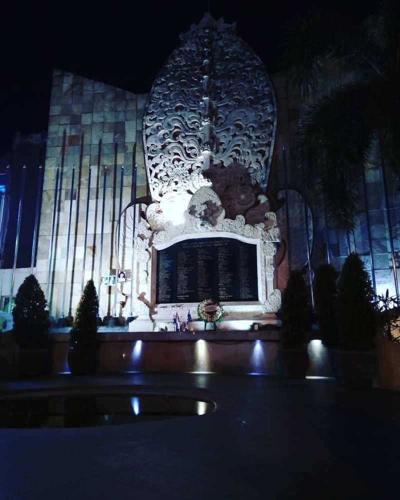 Monumen bali blast, tempat dimana pernah terjadi tragedi disini