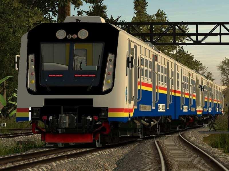 KA Sri Lelawangsa yang melayani rute jadwal Kereta Api Medan Binjai pulang pergi.