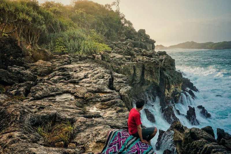 Daftar Tempat Wisata Pantai Di Blitar Jawa Timur Lengkap Pantai Pehpulo Blitar