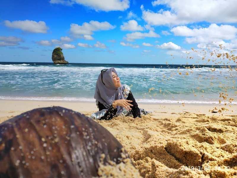 Daftar Tempat Wisata Pantai Di Blitar Jawa Timur Lengkap Pantai Pudak Blitar