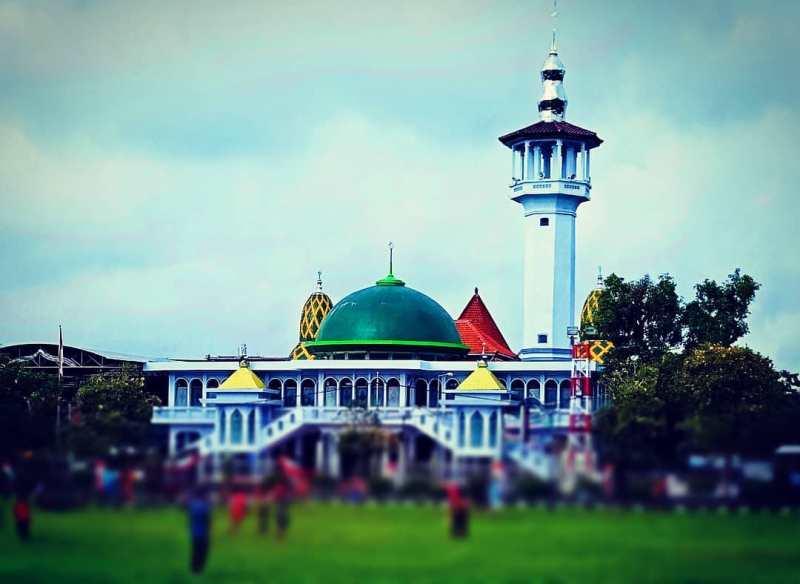 Daftar Tempat Wisata Di Blitar Jawa Timur Lengkap, Masjid Agung Kota Blitar