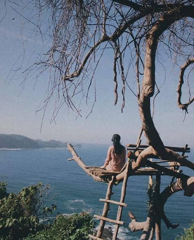 Daftar Tempat Wisata Pantai Di Blitar Jawa Timur Lengkap Pantai Bukit Indah Blitar