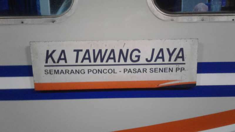 Jadwal Kereta Api Tawang Jaya Premium Terbaru, Rute Tawang Jaya, Harga Tiket Tawang Jaya!