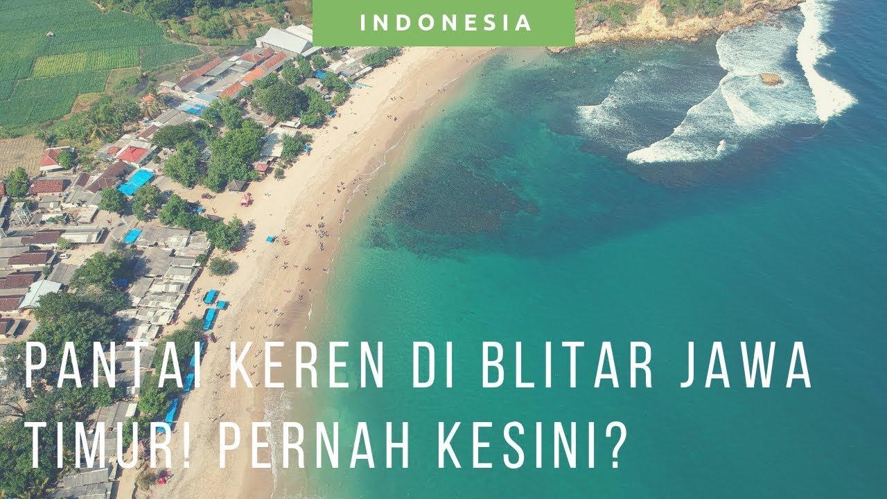 Pantai Tambakrejo Wisata Pantai Blitar Selatan Jawa Timur