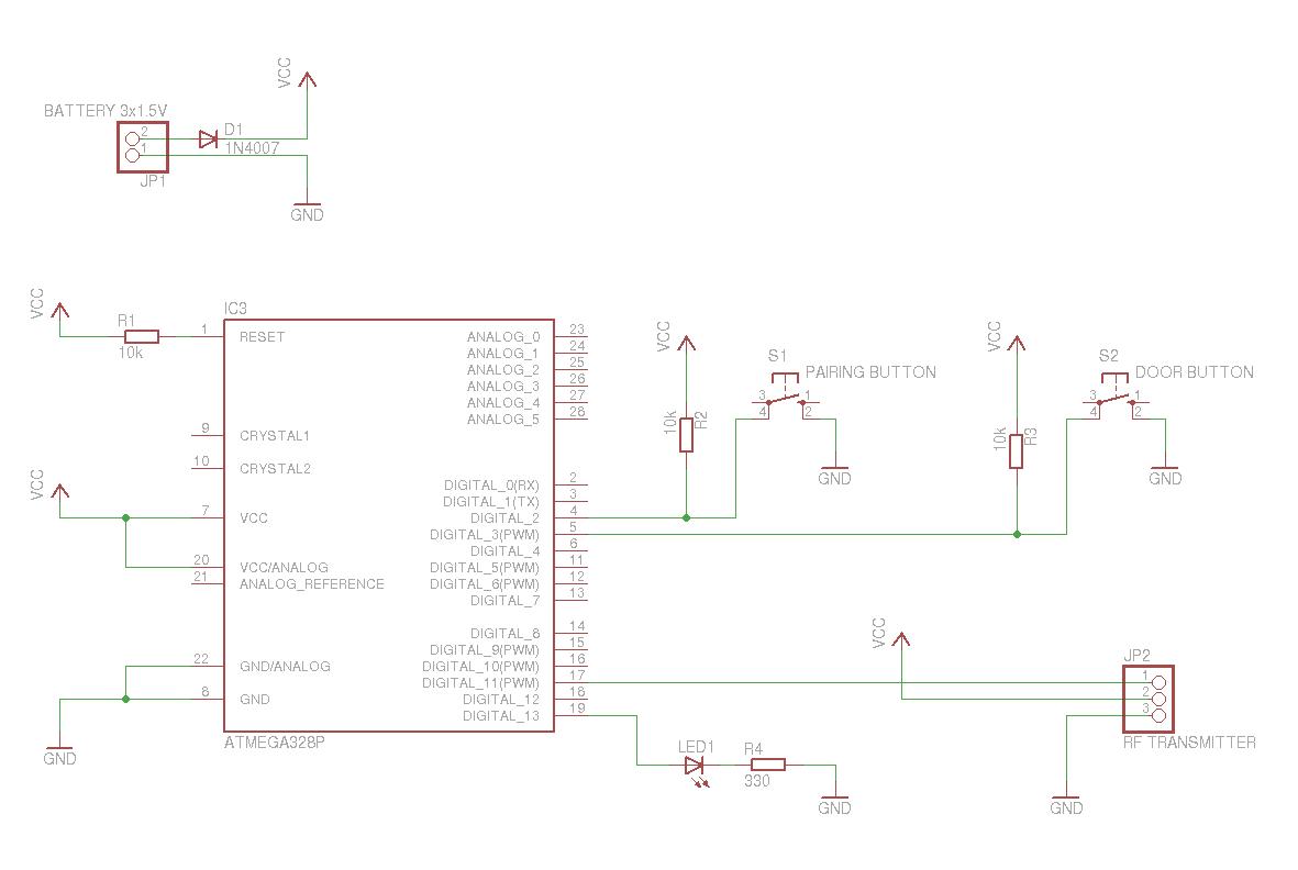 Arduino Based Remote Control For Electric Door Perhof