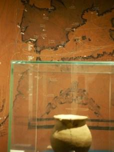 Vanha kartta Välimeren alueesta