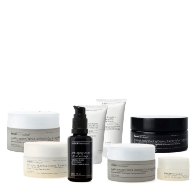 anti-aging skincare face collection