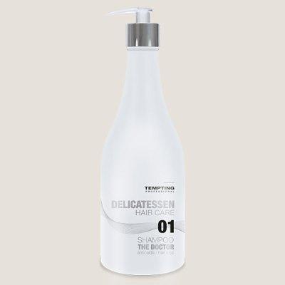 The Doctor juuste väljalangemise vastane šampoon 300 ml peatab juuste väljalangemise