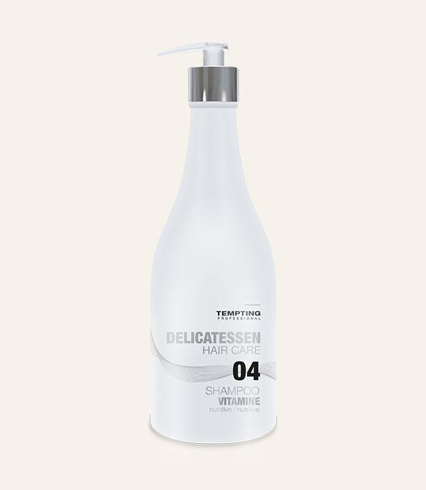 Vitamine šampoon kahjustatud ja kuivadele juustele 300 ml toidab ja niisutab juukseid