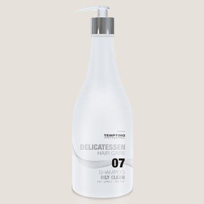 Oily Clean šampoon rasustele juustele 300 ml sisaldab pärmi ekstrakti