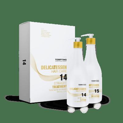 Tempting Professional Straight Treatment sirgendav hooldus 400 ml + 400 ml