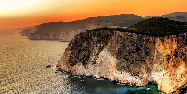 Perierga.gr - Τα ωραιότερα ηλιοβασιλέματα στην Ελλάδα