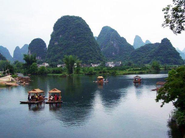 """KINA: Δείτε τον πανέμορφο ποταμό Li των """"ζωγράφων και των ποιητών ..."""