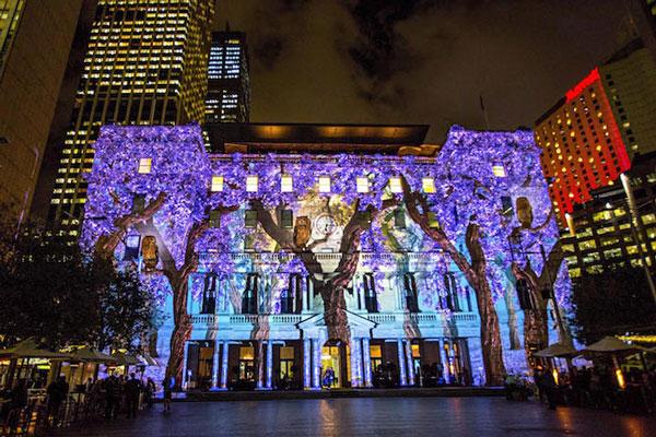 perierga.gr - Μαγευτικό Φεστιβάλ Φωτός στην Αυστραλία!