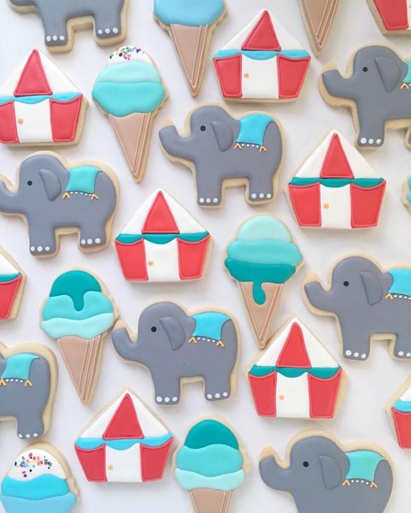 perierga.gr - Γραφίστας δημιουργεί πολύχρωμα μπισκότα!