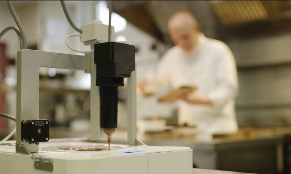 perierga.gr - Το πρώτo εστιατόριο στον κόσμο με 3D-τυπωμένο φαγητό!