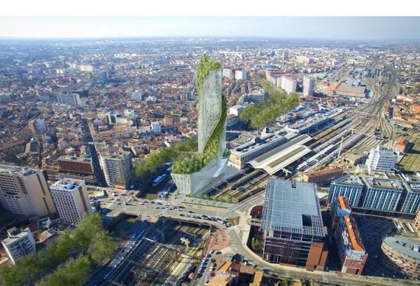 Perierga.gr   Κάθετος κήπος ομορφαίνει... ουρανοξύστη!