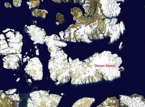 perierga.gr - Νησί Devon: Ο Άρης στη Γη!