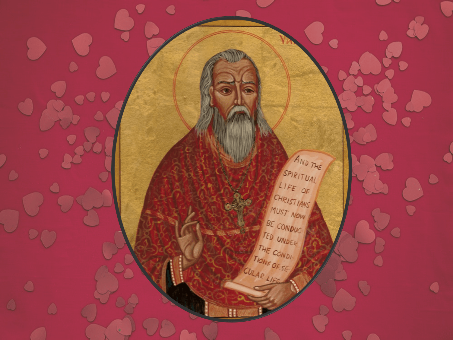 The punished St. Valentine