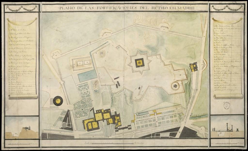 1808-1814-fabrica-de-porcelana-china-real-sitio-guerra-independencia-española-jose-i-fernando-vii-napoleon-bonaparte-francia-franceses-jardines-buen-retiro-parque-fortificado-historia