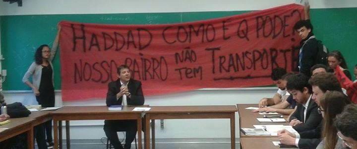 Foto: Divulgação / Luta do Transporte no Extremo Sul