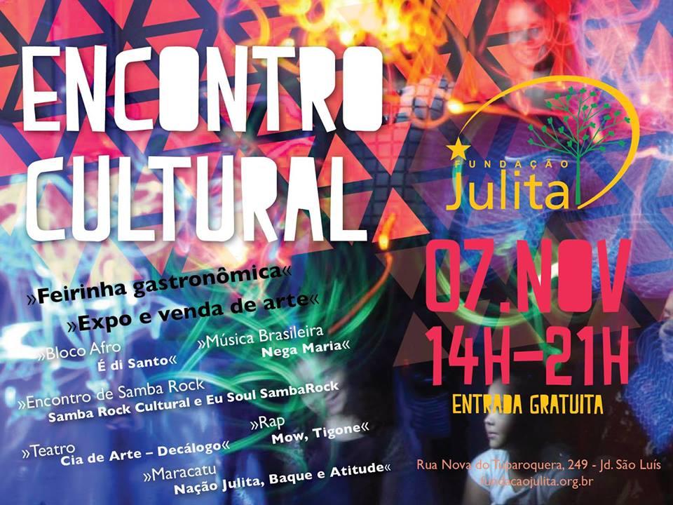 Sábado de festa e cultura no Jardim São Luiz