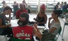 Oficina Repórter da Quebrada na Ilha do Bororé