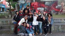 Vivência do Curso Jornalismo, Cartografia e Direitos Humanos (SESC Pinheiros) no Grajaú. Em entrevista com Grajaú Rap City.