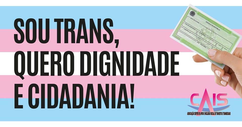 População Trans organiza caminhada no centro de São Paulo