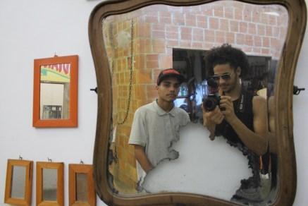 No Museu da Maré