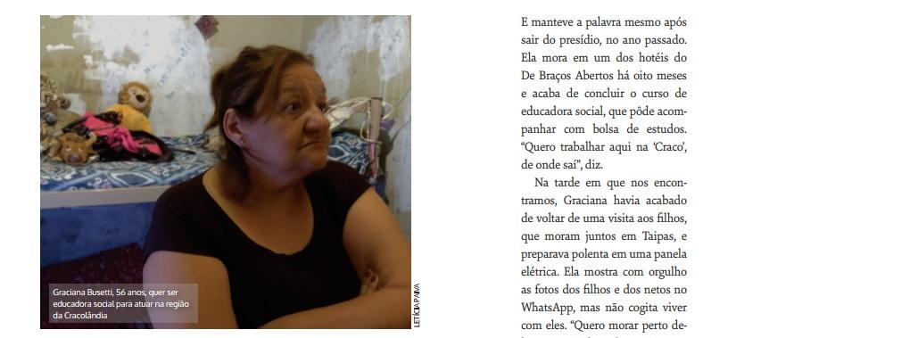 Mulheres de Pedra: revista mostra vivências de mulheres na Cracolândia