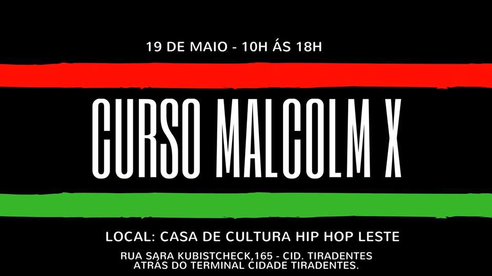 UJIMA Povo Preto oferece curso sobre Malcolm X de graça!
