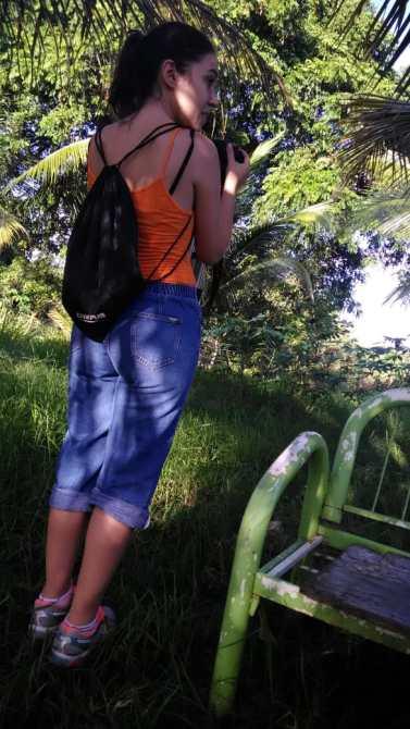 Entrevista no Sítio com a dona Zuleide (foto: Periferia em Movimento)