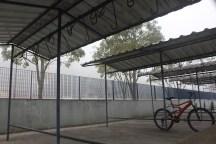 Bicicletário do CEU Parelheiros: vazio (Foto: Matheus Oliveira/Periferia em Movimento)