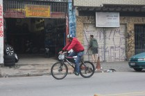 Jardim Mirna: no Grajaú, não há um quilômetro de ciclovia sequer (Foto: Thiago Borges / Periferia em Movimento)