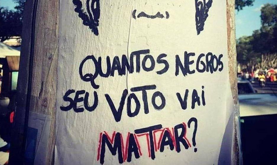 Movimentos debatem fascismo no Brasil racista; e no sábado, novo ato #EleNão