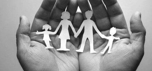 Familie in deinen Händen