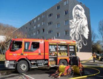 Incendie quartier du Toulon