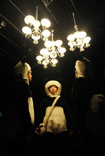 "Image from Carriageworks, Pan Pan Theatre Ireland and Beijing Square Moon Culture's ""Fight the Landlord/Do Di Zhu"""