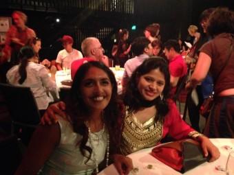 Rachael Jacobs (left) and Asha Shah (right) .  Photo: Ellie Freeman