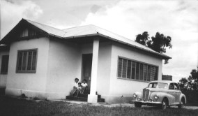 There were good years and my parents built their dream home. They were very proud of this house but it wasn't designed for the climate and would retain the heat from the fierce, summer sun.